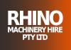 Rhino Machinery Hire Pty Ltd