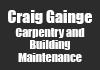 Craig Gainge Carpentry and Building Maintenance