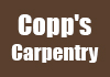 Copp's Carpentry