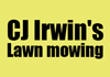 CJ Irwin's lawn mowing