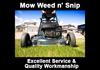 Mow Weed n' Snip