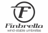 Finbrella;  wind - stable umbrellas