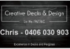 Creative Decks and Design