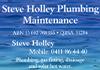 Steve Holley Plumbing Maintenance
