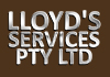 LLOYD'S SERVICES PTY LTD