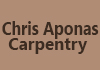 Chris Aponas Carpentry