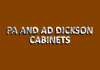 PA AND AD DICKSON CABINETS