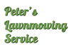Peters Lawnmowing Services
