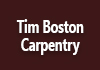Tim Boston Carpentry