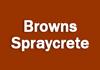 Browns Spraycrete