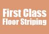 First Class Floor Striping