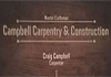CAMPBELL CARPENTRY & CONSTRUCTIONS