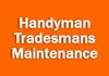 Handyman Tradesmans Maintenance