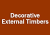 Decorative External Timbers