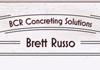 BCR Concrete solutions