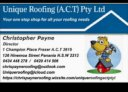 Unique Roofing (ACT) Pty Ltd