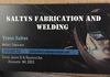 Saltys Fabrication and Welding