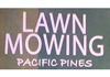 Lawn Mowing Pacific Pines