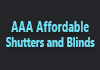 AAA Affordable Shutters and Blinds