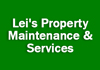 Lei's Property Maintenance & Services