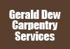 Gerald Dew Carpentry Services