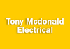 Tony Mcdonald Electrical