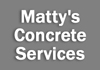 Matty's Concrete Services