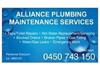 Alliance Plumbing Maintenance Services
