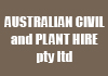 AUSTRALIAN CIVIL and  PLANT HIRE pty ltd