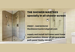 THE SHOWER MASTERs
