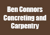 Ben Connors Concreting and Carpentry