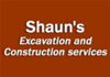 Shaun's Excavation and Construction services