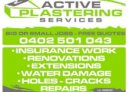 Active plastering services