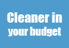 Cleaner in your budget