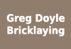 Greg Doyle Bricklaying