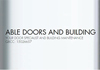 Able Doors and Building