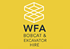 WFA Bobcat & Excavator Hire