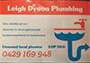 Leigh Dyson Plumbing