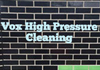 Vox Pressure Cleaning