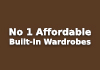 No 1 Affordable Built-In Wardrobes