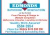 Edmonds Bathroom Renovations/ Wall & Floor Tiling