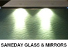 Sameday glass and mirrors,splashbacks,repairs,showers
