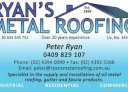 Ryan's Metal Roofing