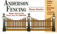 Anderson Fencing & Carpentry