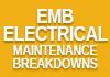 EMB Electrical Maintenance Breakdowns