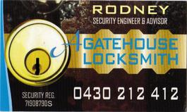 A GATEHOUSE LOCKSMITH