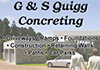G & S Quigg Concreting