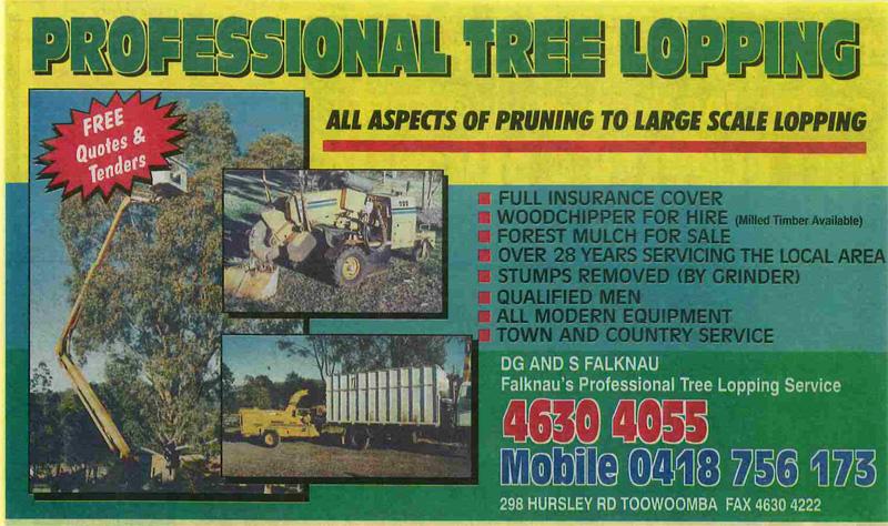 Falknau Professional Tree Lopping Services Toowoomba