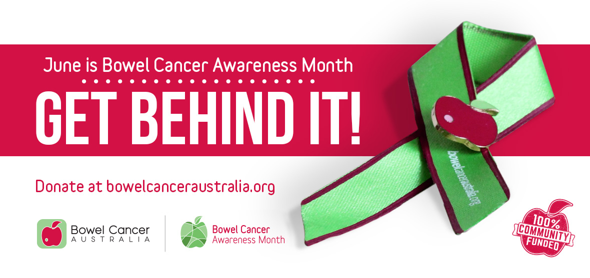 Bowel Cancer Awareness Month and Red Apple Day