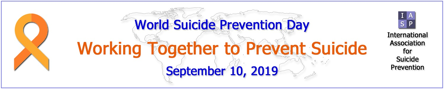 World Suicide Prevention Day 2019